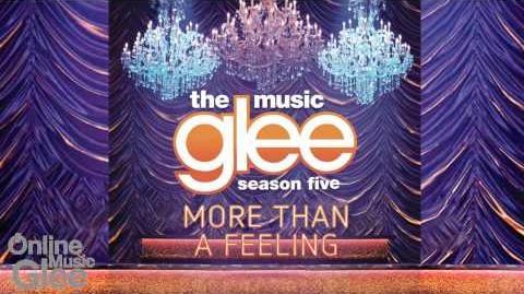 More Than A Feeling - Glee HD Full Studio