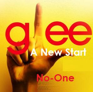 File:Glee A New Start No-One cover.jpg