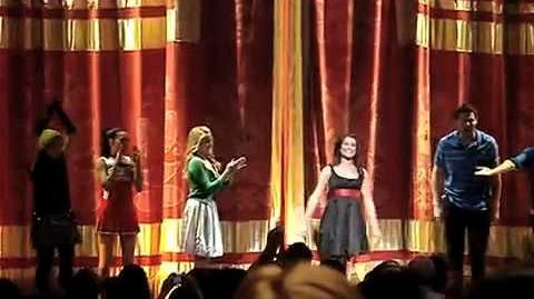 Glee Live Tour - Don't Rain On My Parade