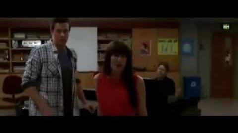 Glee - Just Can't Stop Loving You (Rachel and Finn) (Official Video)