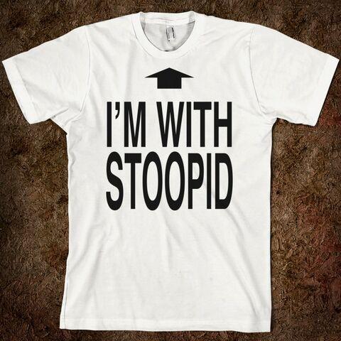 File:I'm With Stupid.jpg