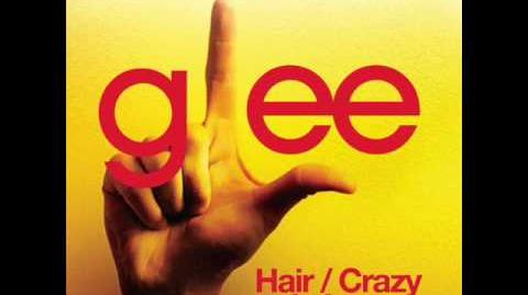 Glee - Hair Crazy In Love (Acapella)