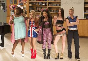 Glee Spice Girls