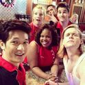 Blaine-Brittany-Sam-Mercedes-Puck-and-Mike-at-the-Spotlight-1392075909