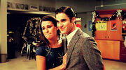 Rachel and Blaine in EMC