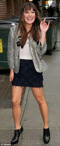 File:Lea Michele before the David Letterman Show.jpg