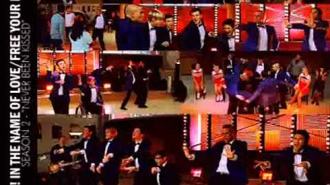Glee - Stop In The Name Of Love Free Your Mind (Acapella)