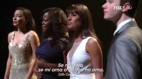 Glee - How Will I Know (Full Performance)