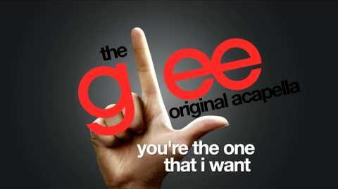 Glee - You're The One That I Want - Acapella Version