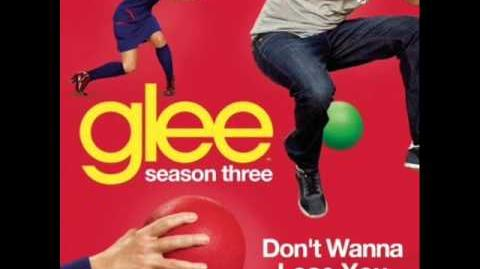 Glee - Don't Wanna Lose You (Acapella)