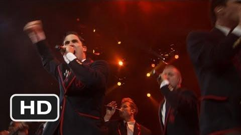 Glee The 3D Concert Movie 5 Movie CLIP - The Warblers Rock Out (2011) HD