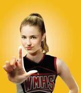 (1)Glee Single Ad Keyart quinn rgb