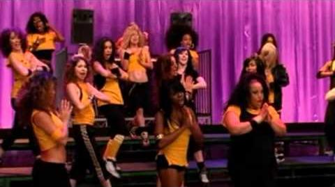 Glee Cast Destinys Child Bootylicious Hairography