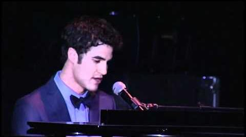 """Darren Criss performs """"Not Alone"""" at Trevor Live"""