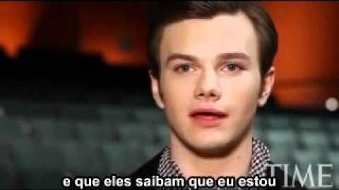 Chris Colfer 2011 TIME 100 (Legendado PT-BR)