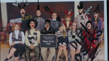 Glee Defaced Yearbook Old
