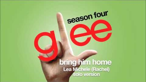 Bring Him Home (Rachel Solo Version) Glee HD FULL STUDIO