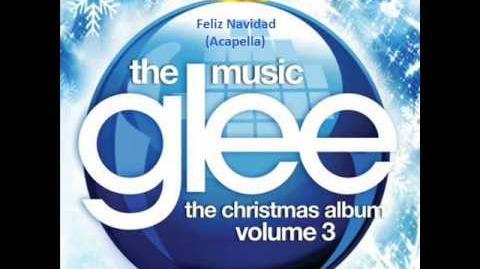Glee - Feliz Navidad - Acapella