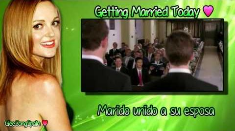 Glee - Getting Married Today Traducida Vídeo