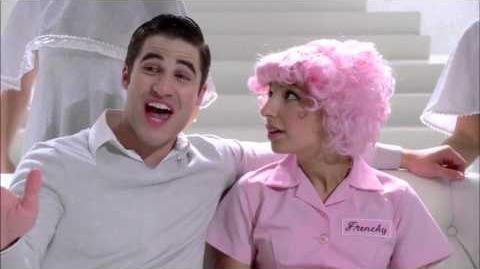 GLEE - Full Performance of ''Beauty School Drop Out'' from ''Glease''