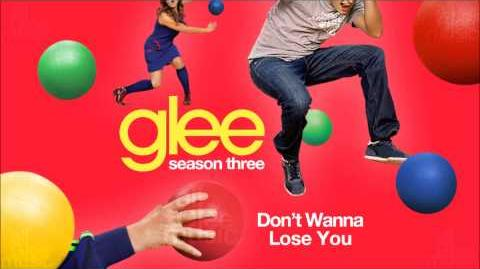 Don't Wanna Lose You Glee HD FULL STUDIO