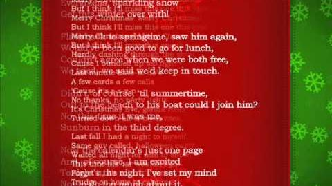 Waitresses Christmas Wrapping FULL VERSION Lyrics