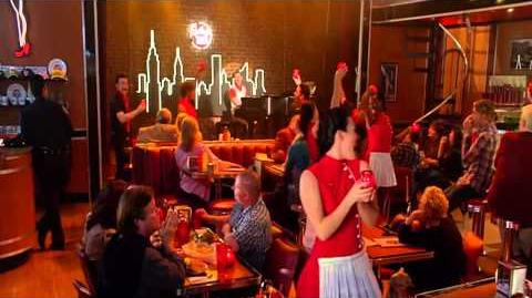 Glee - Piano Man (Full Perfomance) HD