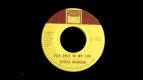 (( Stevie Wonder - For Once in My Life ))