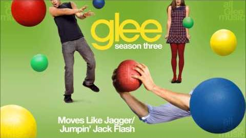 Moves Like Jagger Jumpin' Jack Flash Glee HD FULL STUDIO