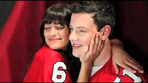 Glee Season 2 Photoshoot Video