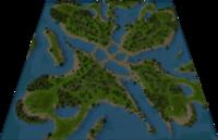 Wadi Nefud Map