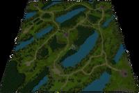 Overgrown City Map