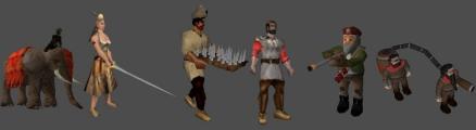Custom unit montage