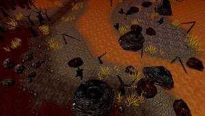 Volcanic tileset
