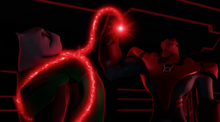 Kilowog in captivity of Atrocitus