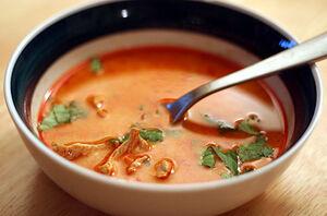 Thai style chkn soup