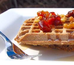 Buckwheat waffles 1