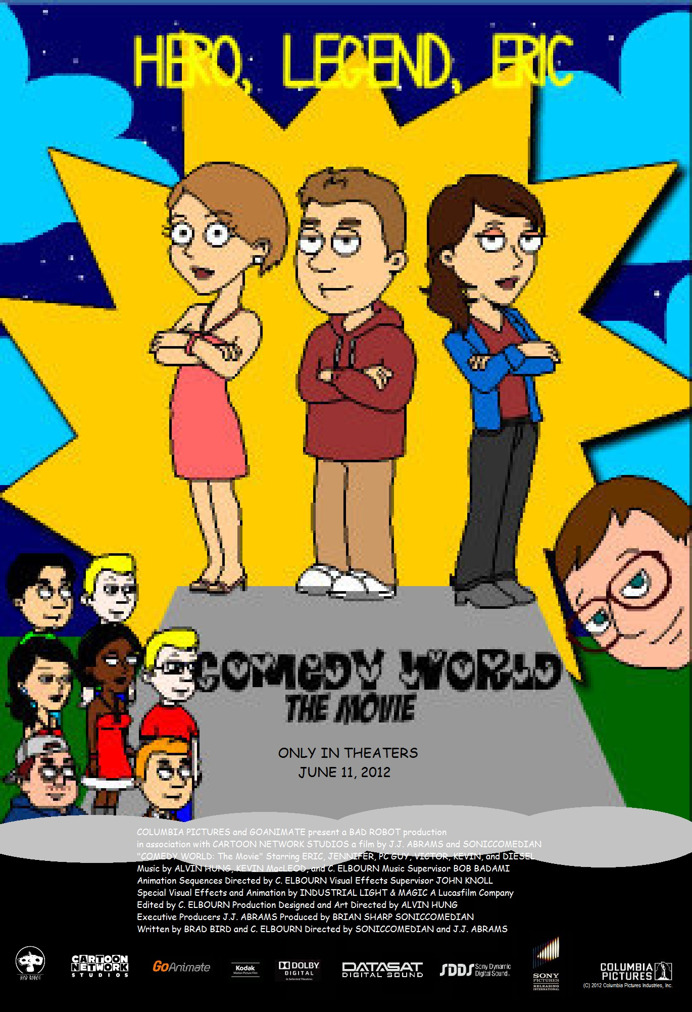Comedy World The Movie Go Animate The Movie Wiki