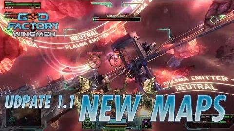 GoD Factory Wingmen - Steam - New Maps (Update 1.1 Trailer)