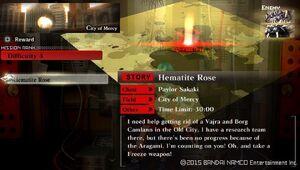 R4 Hematite Rose