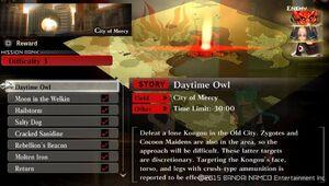 R3 Daytime Owl