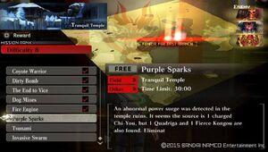 R8 Purple Sparks