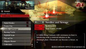 R7 Needles and Sewage