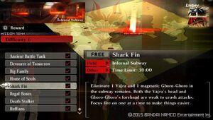 R6 Shark Fin