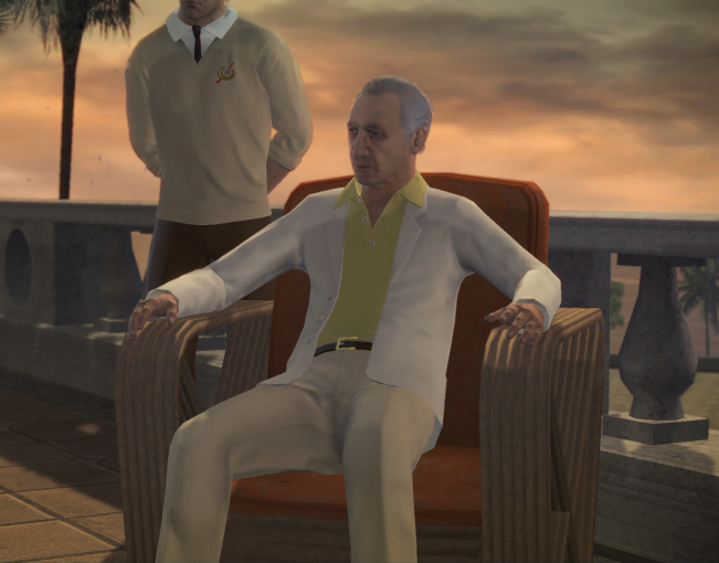Young Hyman Roth Hyman Roth in The Video Game
