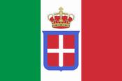 Kingdom of Italy flag