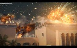 Granados compound blew up