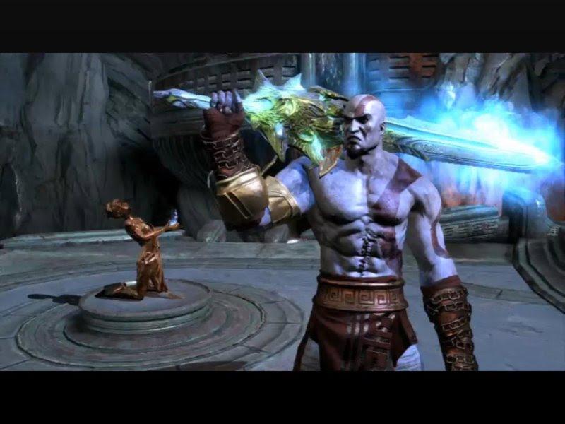 See God of War III God Of War Blade Of Olympus