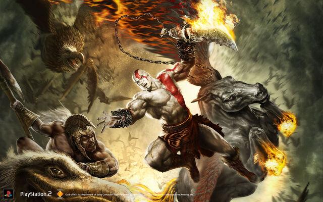 File:GOW 2 Kratos on Pegasus.jpg