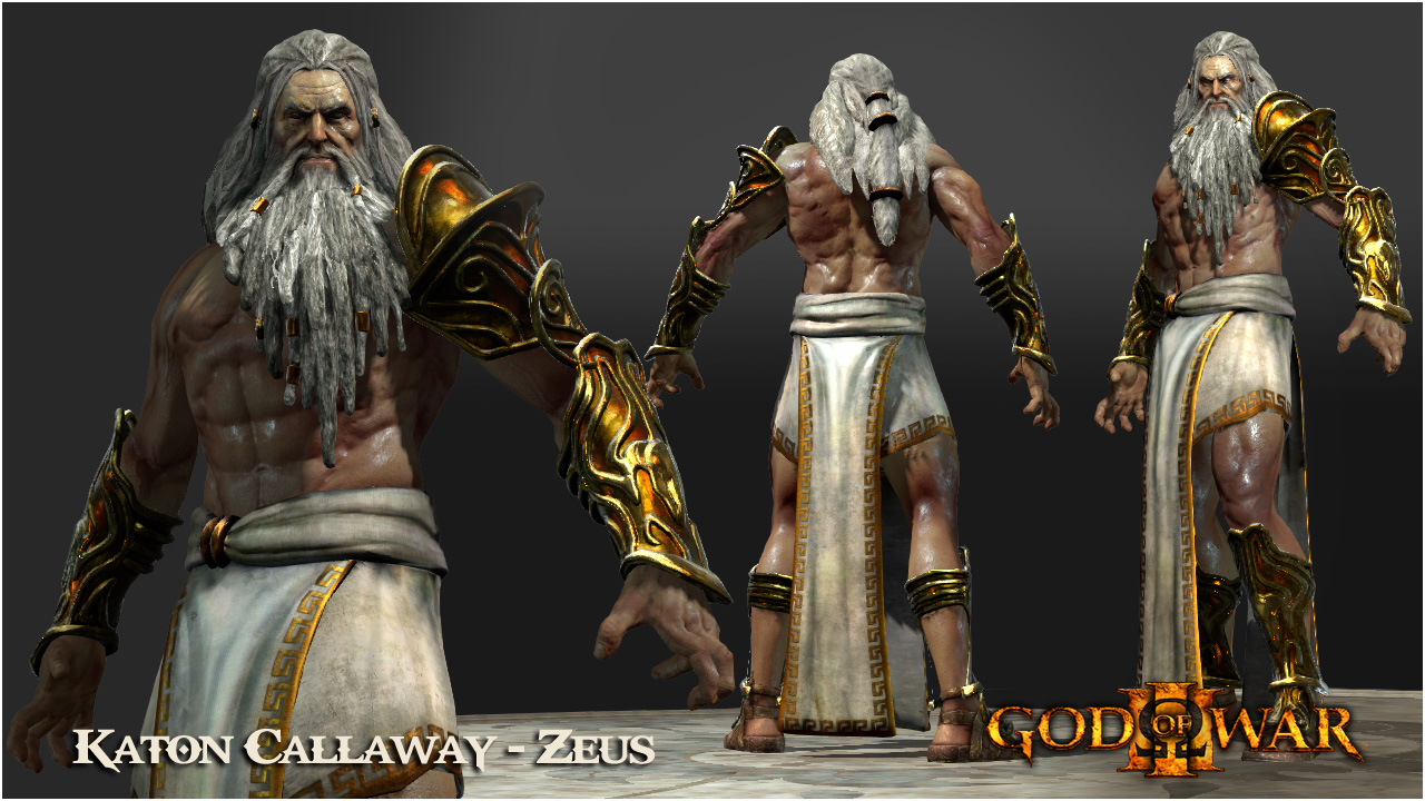 Zeus God Of War Game FileVideoGameArt GodOfWar3